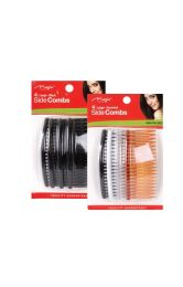 Magic Collection 4 Large Side Combs - Assorted