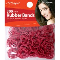 Magic Collection 300 Red Rubber Bands