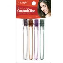 """Magic Collection 4.8"""" Long Control Clips - 4 Pack"""