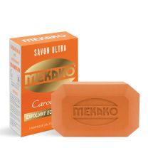Mekako Savon Carotte 15Plus Ultra Exfoliating/Lightening Soap Bar - 200g