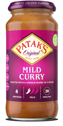 Pataks Mild Curry Sauce 450g