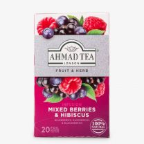 Ahmed Tea Mixed Berries & Hibiscus Infusion (20 Teabags)
