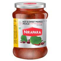 Nirapara Hot & Sweet Mango Pickle 400g