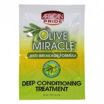 African Pride Olive Miracle Deep Conditioning Treatment - 1.5 Oz