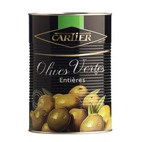 Cartier Pitted Green Olives 850ml