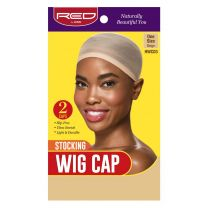 Red by Kiss Stocking Wig Cap Beige 2 Pack - HWC03