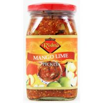 Rishta Mango Lime Pickle 400g