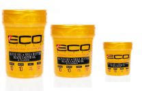 Eco Professional Hair Styling Gels- Gold Version With Olive Oil , Shea Butter, Black Castor, And Flaxseed Oil