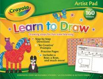Crayola Artist Pad: Learn to Draw Educational Childrens Activities Stickers
