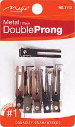 Magic Collection 12 Pcs Double Prong