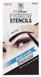 RK by Kiss Go Brow Eyebrow Stencils - RBS02