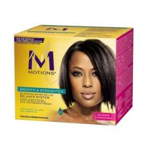 Motions Smooth and Straighten Silkening Shine No-Lye Relaxer - Super