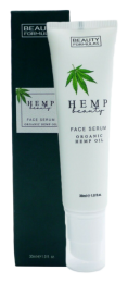 Beauty Formulas Organic Hemp Oil Face Serum - 30ml