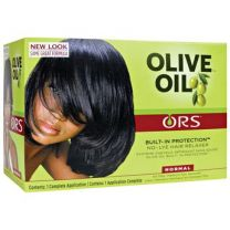Organic Root Stimulator Olive Oil Built-In Protection No Lye Relaxer Normal