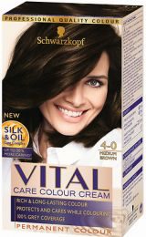 Schwarzkopf Vital Colors Permanent Colour Medium Brown