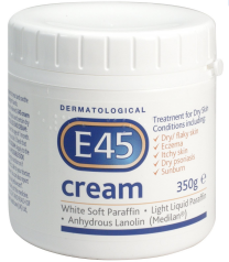 E45 Dermatological Cream Treatment for Dry Skin - 350g