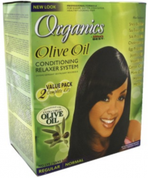 Organics Olive Oil Twin Pack Conditioning Relaxer System