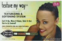 Texture My Way Herbal Conditioning Texturising & Softening System