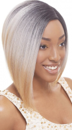 Janet Collection Human Hair Blend Lace Front Wig Brazilian Scent - SARAH