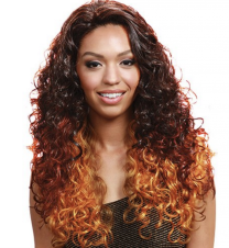 Bobbi Boss Synthetic Lace Front Wig - Cherry
