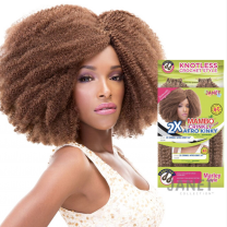 """Janet 2X Crinkly Afro Kinky 24"""""""