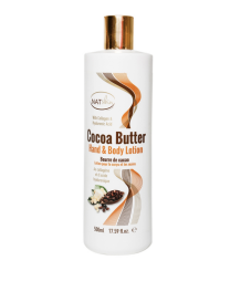 Natskin Cocoa Butter Hand & Body Lotion - 500ml