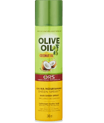 ORS Olive Oil With Coconut Oil Extra Nourishing Sheen Spray - 240ML