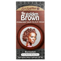 Sta Sof Fro Be Golden Brown Permanent Hair Colour Cream - Shiny Golden Brown Afro