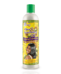Sof N Free N Pretty Olive And Sunflower Oil Combeasy Shampoo - 12 Oz
