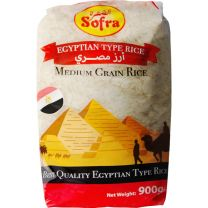 Sofra Egyptian Medium Grain Rice 900g