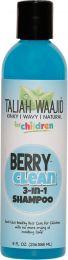 Taliah Waajid Kinky, Wavy, Natural Clean 3-In-1, Berry 8