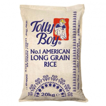 Tolly Boy Long Grain Rice 20kg