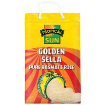 Tropical Sun Golden Sella Basmati Rice 10kg