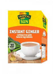 Tropical Sun Instant Ginger Tea