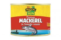 Tropical Sun Makeral in  Tomato Sauce 200g