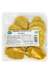 Riverside Breaded Chicken Steak (12x85g) 1.02kg