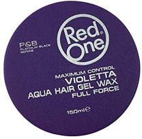 Red One Maximum Control VIOLETTA Aqua Hair Gel Wax Full Force - 150ml