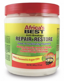 Africa's Best Repair Restore Leave-in Conditioning Treatment - 15 Oz