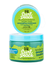 Just for Me Curl Peace Tender Head Detangling Treatment - 12 Oz