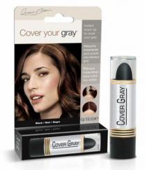 Cover Your Gray Touch-Up Stick Black - 0.15 Oz