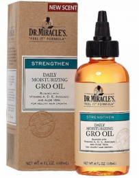 Dr. Miracle's Daily Moisturizing Gro Oil - 4 Oz