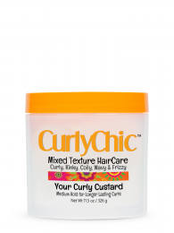 Curly Chic Mixed Texture HairCare Your Curly Custard - 11.5 Oz
