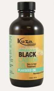 Kuza Jamaican Black Castor Oil with Flaxseed Oil - Skin & Hair Treatment 118ml