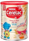 Nestlé Cerelac Honey and Wheat with Milk Infant Cereal 400g 12 months+
