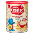 Nestlé CERELAC Mixed Fruits & Wheat with Milk Infant Cereal 8m+, 1kg