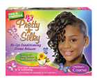 PCJ Pretty-N-Silky No-Lye Children's Conditioning Creme Relaxer Coarse (1 Application)