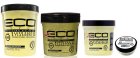 Eco Styler Professional Black Castor and Flaxseed Oil Hair Styling Gel