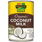 Tropical Sun Organic Coconut Milk 400ml
